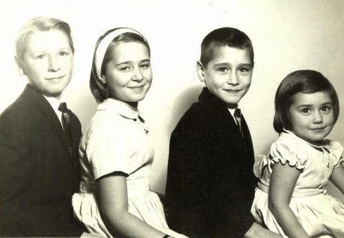Jacques, Louise, Daniel et Martine
