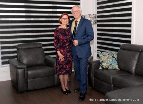 Céline et Jacques, le 6 octobre 2018