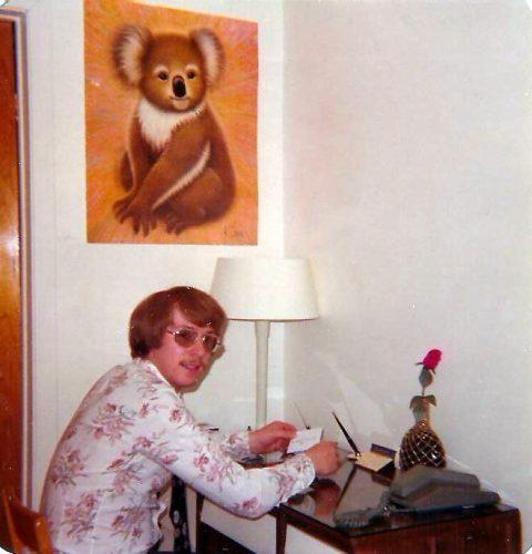 Mon premier bureau au 8865A Provence à St-Léonard