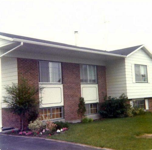 Notre première maison! Un semi-détaché sur la rue Quimper à Saint-Louis-de-Terrebonne acquis en 1978.