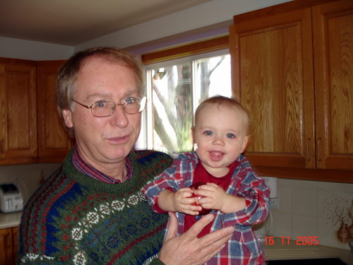 !5 novembre 2005... Félix en visite à Laval