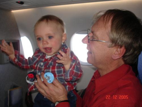 En vol pour la Floride