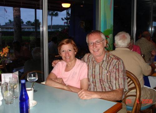 12 avril 2006 dans un restaurant de Sarasota, en Floride