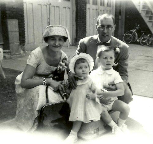 Maman, Louise, moi et papa
