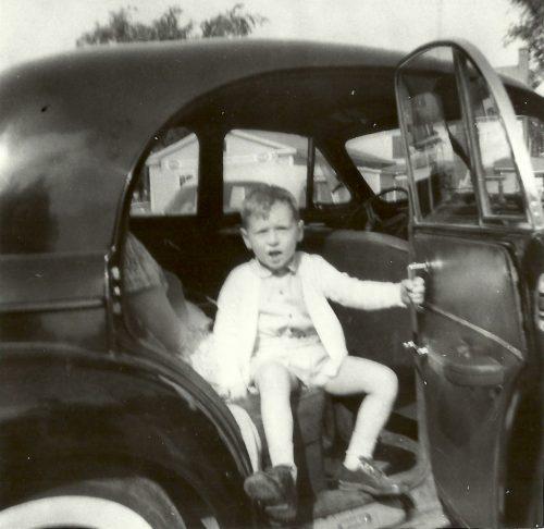Dans l'auto de mon père