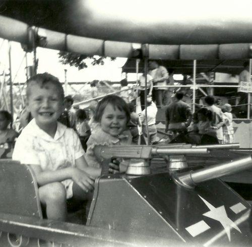 Parc Belmont, mai 1959