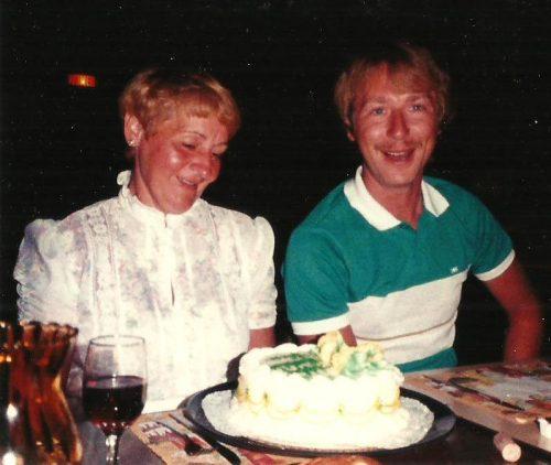 Juillet 1983, Virginia Beach avec ma mère