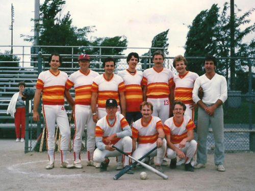 Équipe de balle-molle de la trésorerie de la CUM, 1986