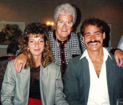 Johanne Damphousse, Lucille Bourque et mon frère Daniel.