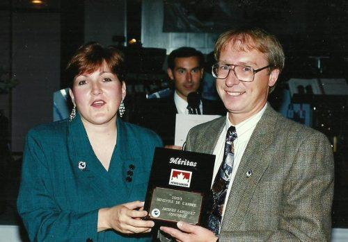 Madeleine Gravel et moi