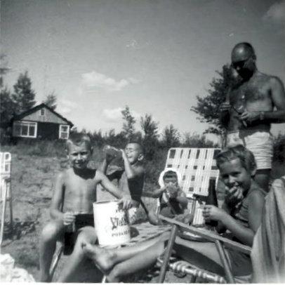 1963, Lac des Plages