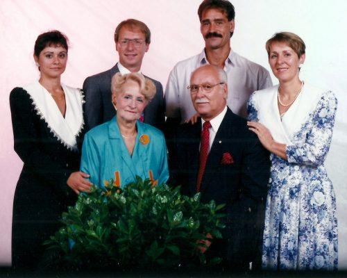 1991 photo de famille des Lanciault