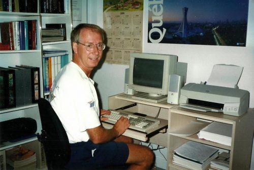 Au travail dans mon bureau du 2640 rue Tadoussac