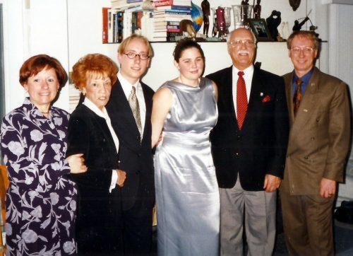 1999 - Fiancailles de Marc-André et Caroline