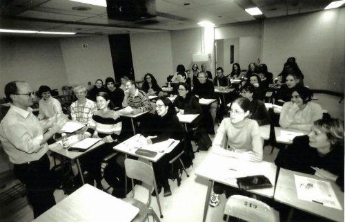 Classe de journalisme avec Jocelyn Coulon, 2001