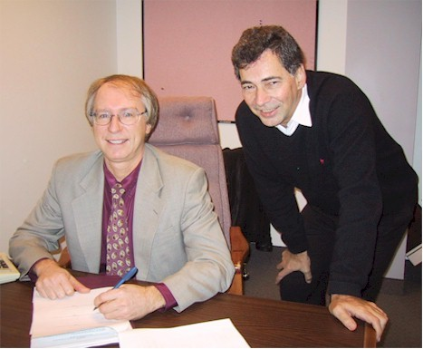 5 décembre 2001 avec Jacques Dupont