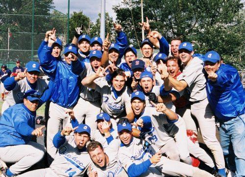 Édition 2002 de l'équipe du Québec... médaillée d'or lors du championnat canadien de baseball junior