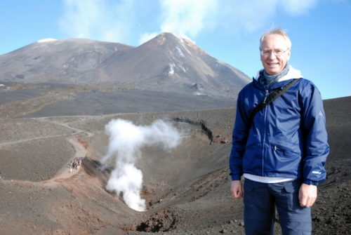 L'ascension de l'Etna, le 10 octobre 2008