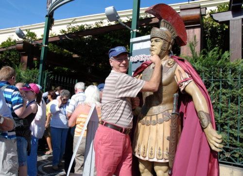 Le 21 octobre 2008, tout juste avant de nous rendre à Pompéi!