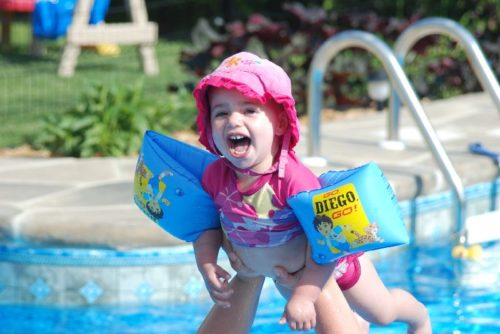 14 juin 2009, Chloé, chez elle à Blainville