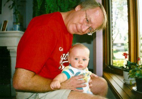 Moi et Félix, mai 2003