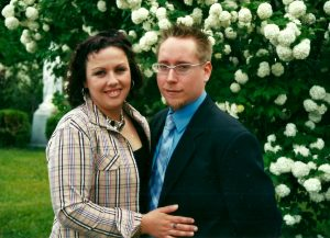 Isabel et Marc-André lors du mariage de Jean-François le 7 juin 2003!