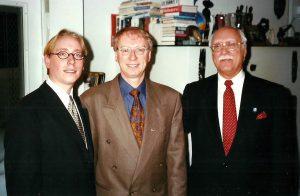 Mon fils, moi et mon père! en 1999!