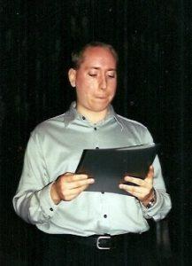 Le 15 mars 2002, lors d'une fête organisée pour souligner mon départ à la retraite, Marc-André a lu un émouvant texte...