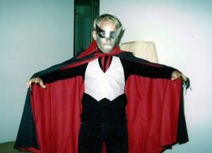 Halloween 1989 - Marc-André en Dracula, un autre costume confectionné par ma mère!