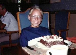 Été 1989... Marc-André fête ses 10 ans!