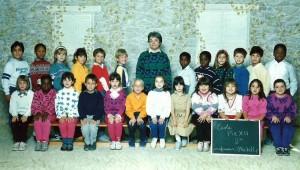 Octobre 1986, Marc-André est en 2e année à l'école Pie XII.
