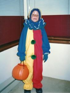 Une autre fête de l'Halloween où Marc-André profite des talents de couturière de sa grand-maman Hélène!