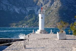 Phare de l'île de la roche, Baie de Kotor, Monténégro
