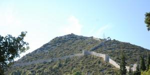 Les murailles de la forteresse de Ston, Croatie