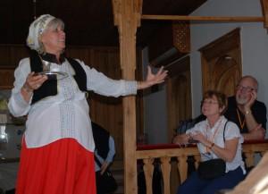 Notre guide locale à la maison Muslibegovic à Mostar, Bosnie-Herzégovine