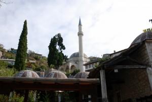 La mosquée Hadji Ali à Pocitelj, Bosnie-Herzégovine