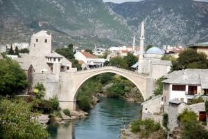 Le ponr sw Mostar, Bosnie-Herzégovine