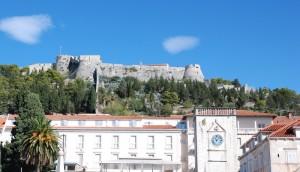 La forteresse de la ville de Hvar.
