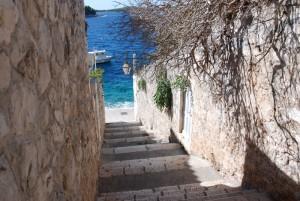 Venelle menant à la mer Adriatique