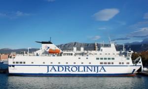 Croisière à bord d'un ferry de la compagnie Jadrolinija