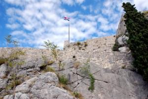 La forteresse de Klis, Split, Croatie