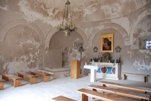 Chapelle de la forteresse de Klis, Split, Croatie