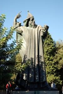 L'évêque Grégoire de Nin, Split