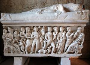 Musée archéologique de Split en Croatie.