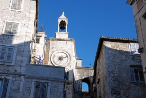 La place Nationale dans le quartier historique de Split