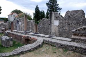 Site archéologique de Salona, Dalmatie, Croatie