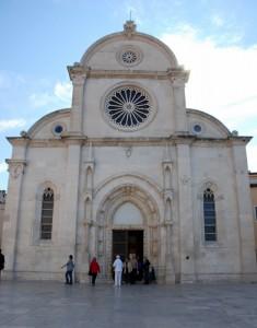 La cathédrale de St-Jacques, Sibenik, Croatie.