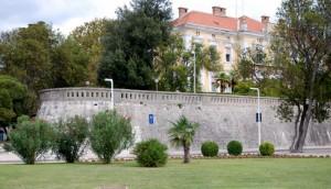Fortifications entourant la ville de Zadar, Croatie