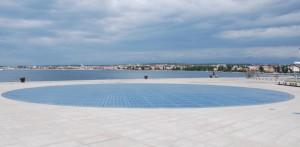 Salutation au soleil, Zadar, Croatie