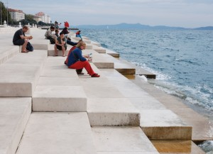 Orgue marin, Zadar, Croatie